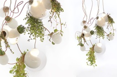'Series 38' planter chandelier