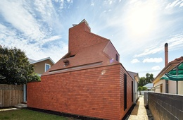 Scaling the chimney: Camino House
