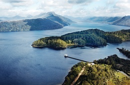Water born: Pumphouse Point