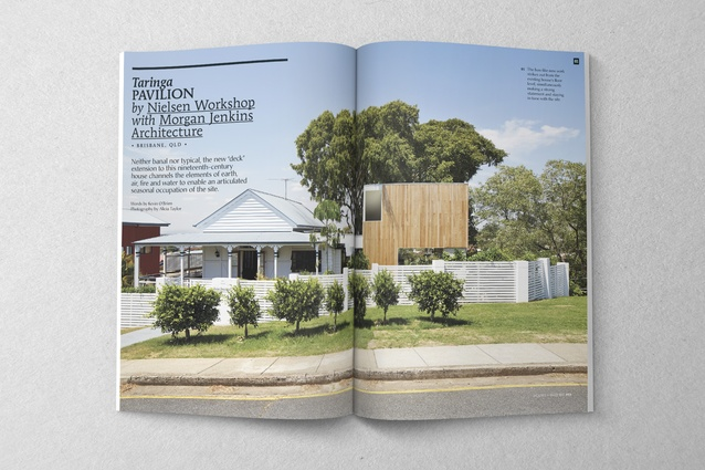 Taringa Pavilion by Nielsen Workshiop with Morgan Jenkins Architecture.