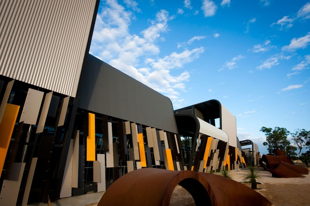 <strong>Public, Colorbond Award for Steel Architecture:</strong> Trades North at Clarkson by JCY Architects and Urban Designers.