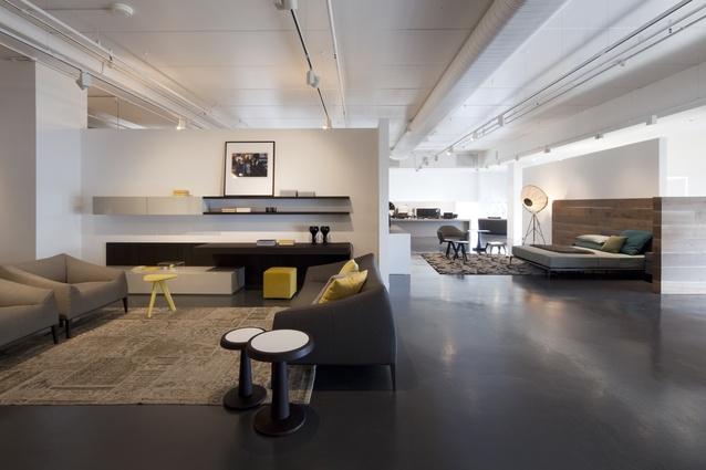Poliform opens new sydney showroom architectureau - Poliform showroom ...