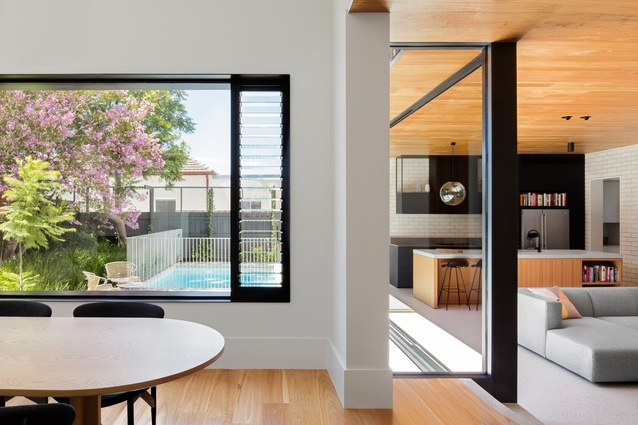 Elsternwick House by Clare Cousins Architects.