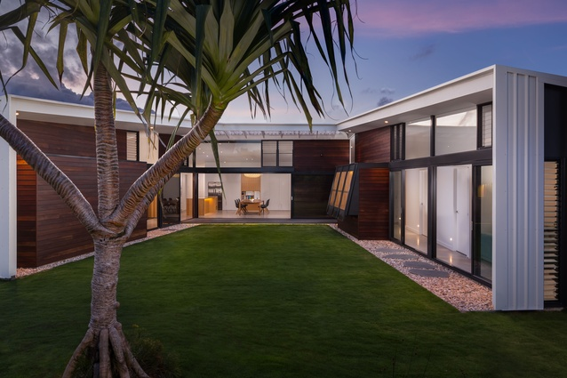 Mt Coolum Residence by Sparks Architects.