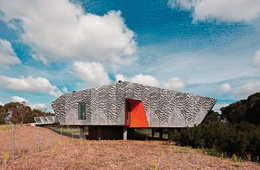 Edithvale-Seaford Wetlands Discovery Centre by Minifie van Schaik Architects