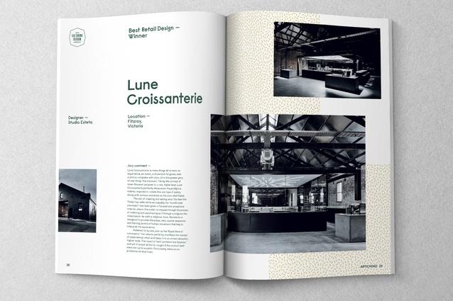Inside Artichoke issue 57.