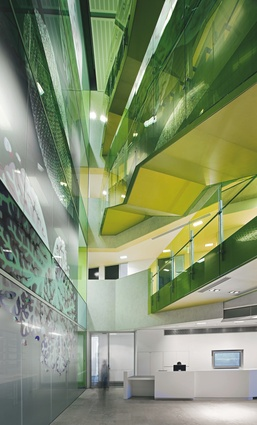 The 2008 Public Design Award winner: Queensland Brain Institute by John Wardle Architects + Wilson Architects.