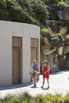 Tamarama Kiosk and Beach Amenities by Lahz Nimmo Architects.