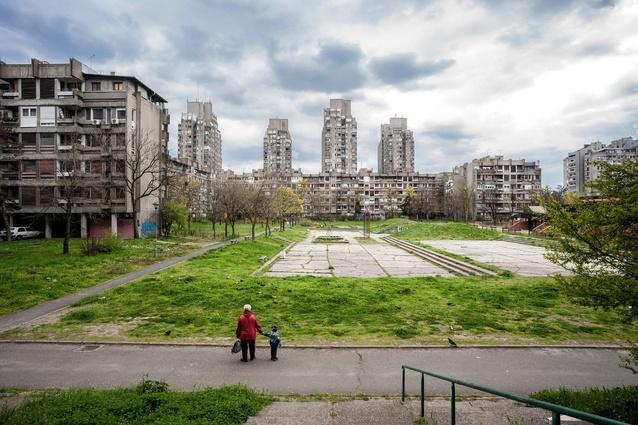 Sense of Place category: Photographer: Inigo Bujedo Aguirre. Blok 23, Novi Beograd, Belgrade, Serbia. Architect: Aleksandar Stjepanovic.