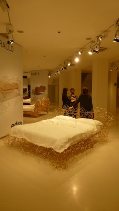 Campana Bros. Corallo bed for Edra.