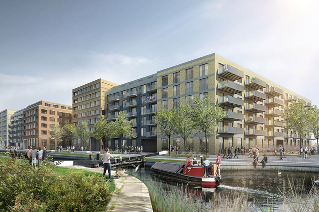 "The Fish Island Village development in Britain aims to offer tenants a ""more sophisticated model"" than the co-living projects aimed solely at young professionals."