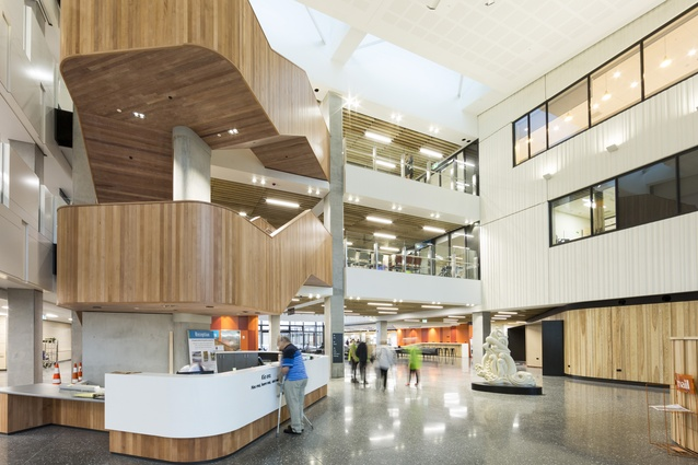 NALCO Health Project Award: Burwood Hospital, Christchurch.
