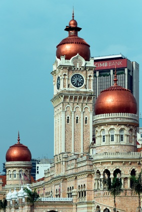 Kuala Lumpur is a heady mix of old and new architecture.
