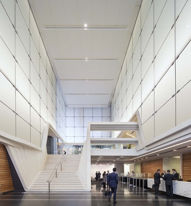 ANZ Tower Foyer by Francis-Jones Morehen Thorp.