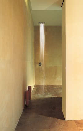 Cubo Doccia showerhead from Inlite.