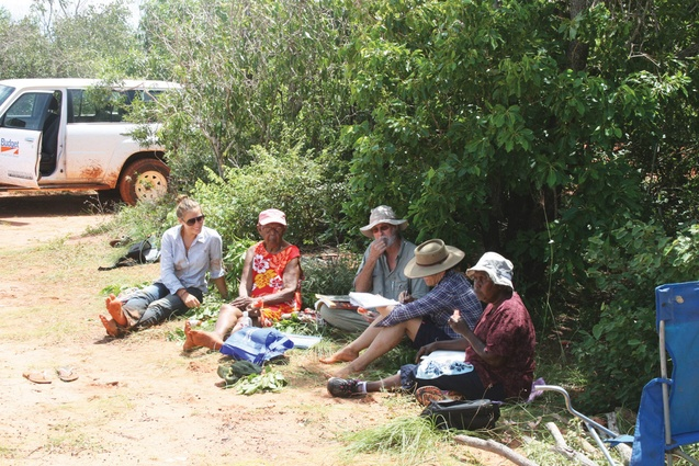 Field survey reviewing Yawuru habitats and seasons.