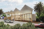 DA submitted for BVN's Marrickville library and community centre