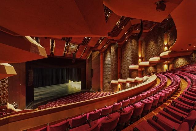 Adelaide Festival Centre interior.