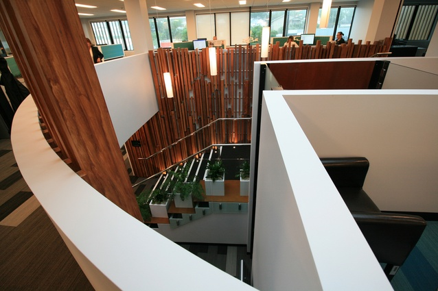 Commercial Architecture winner: PKW Offices by Elliott Architects.