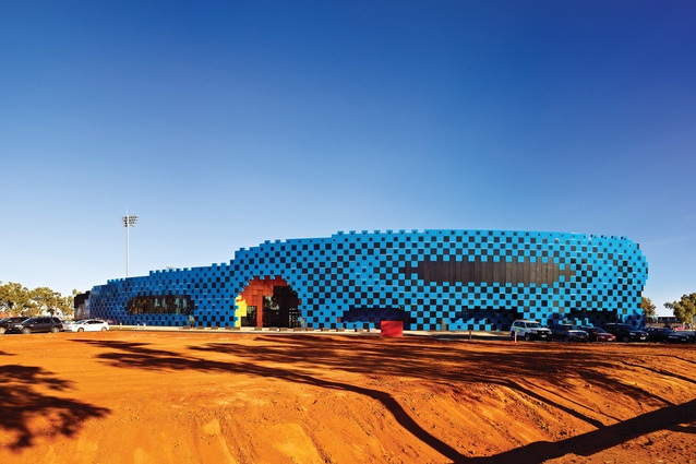 Wanangkura Stadium, South Hedland (2012).