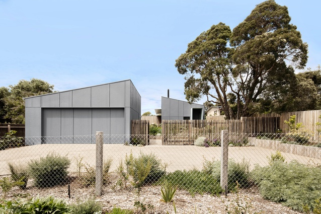 Sorrento Beach House by Clare Cousins Architects.