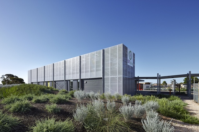 Port Augusta Sterile Insect Production Facility by Phillips/Pilkington Architects.