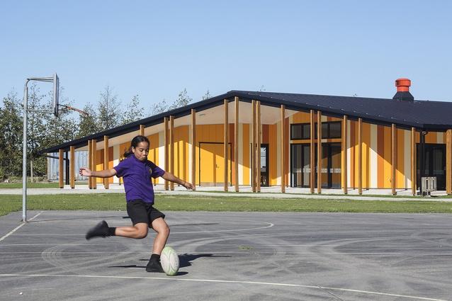 Education Award: Te Kura Kaupapa Māori o Ngāti Kahungunu o Te Wairoa by RTA Studio.