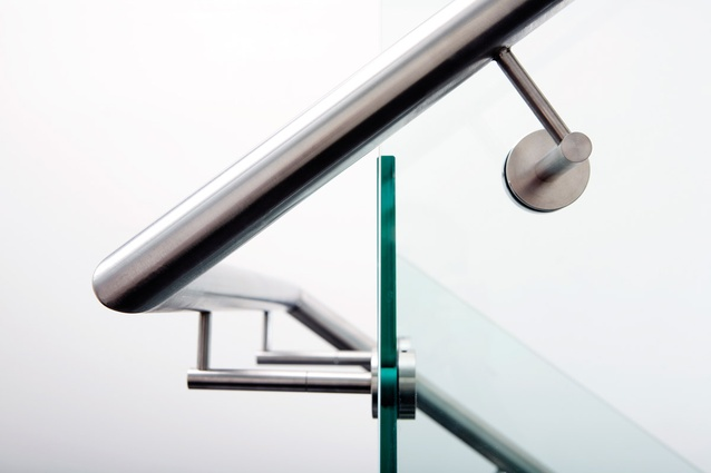 Glass balustrades from Connect Systems.