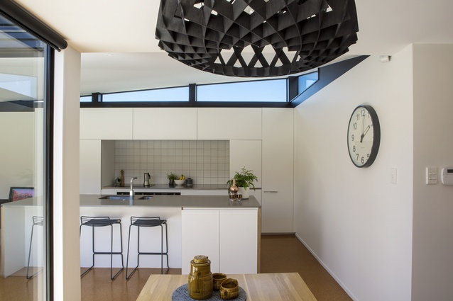Interior of Archdall renovation by Dorrington Atcheson Architects in Meadowbank, Auckland.