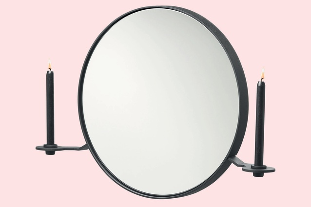 101 Candelabra Mirror by Kranen/Gille for Functionals $895 from ECC Lighting and Furniture.