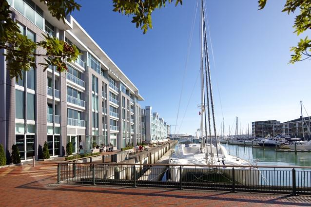 Auckland's Sofitel hotel.