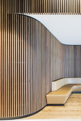 1 Parramatta Square by Architectus, interiors by Woods Bagot.