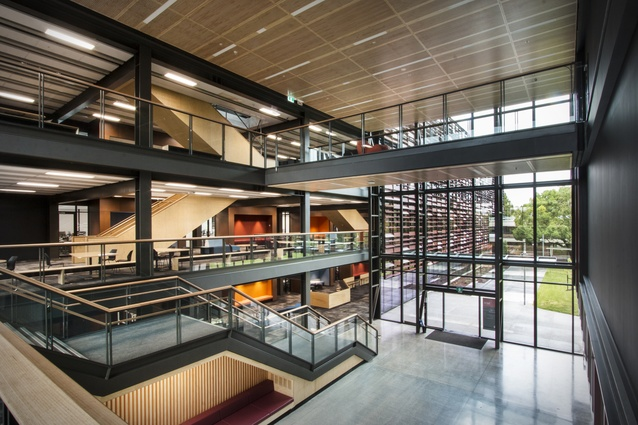 Interior Architecture winner: AUT Manu Hauora (MH) Building, Manukau by Jasmax.