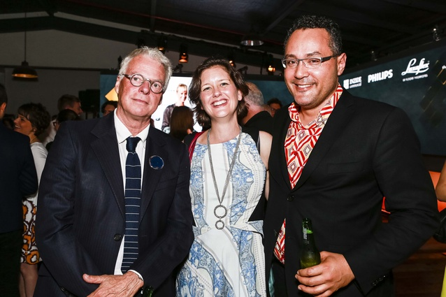 L: Pip Cheshire of Cheshire Architects, R: Andrew Tu'inukuafe of Creative Spaces.
