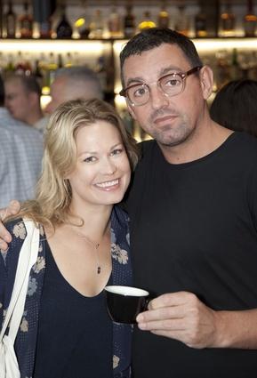 Kathryn Wilson and Steve Dunstan, Huffer.