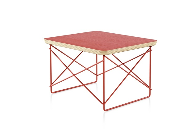 Eames low table select edition architectureau for Red edition table basse
