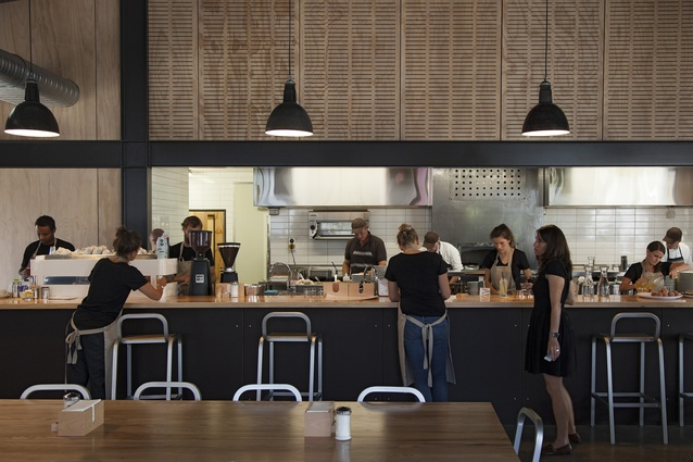 Hospitality and Retail Award: PREFAB Eatery by Studio of Pacific Architecture.