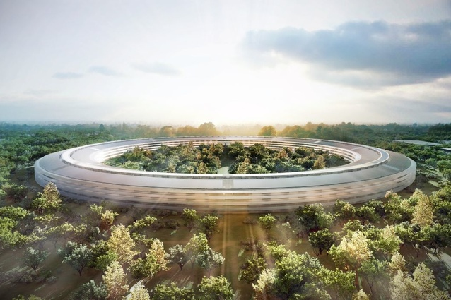 The proposed Apple headquarters by Foster + Partners.