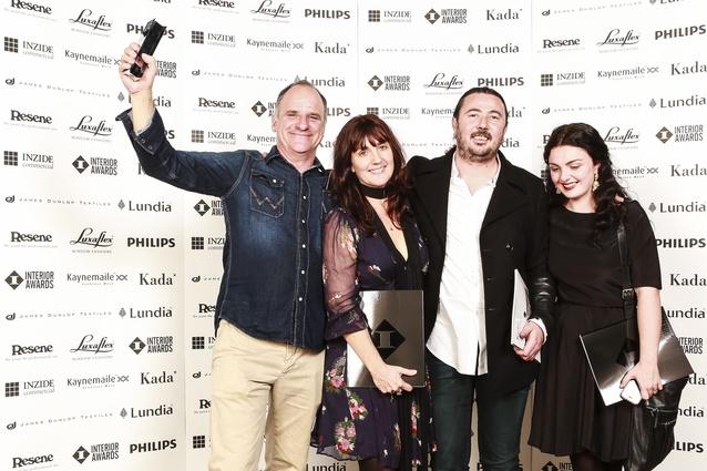 Powersurge Metalworks team: Winner Craftsmanship Award.