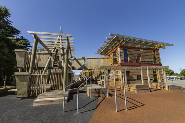 Small Project Architecture Award: Life is a Playground by Architype - Shadbolt Architects.
