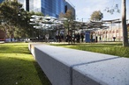 Amanda Levete Architects' MPavilion relocated to MALA-designed Docklands park