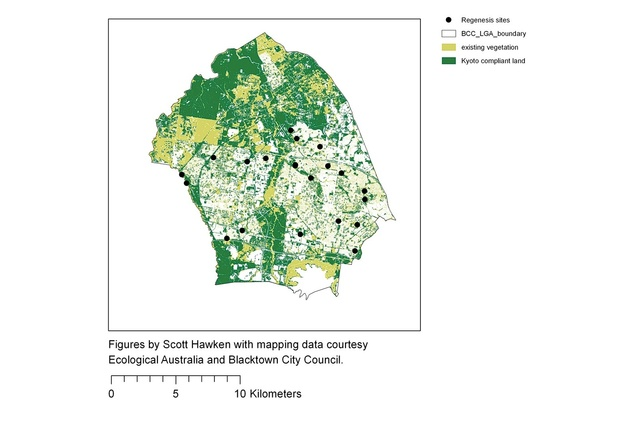 Urban forests in the new carbon economy –  the Regenesis model