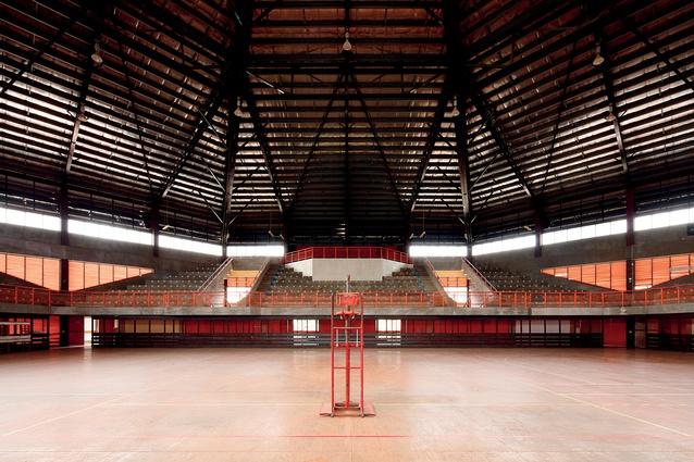 Atele Indoor Stadium, in Nuku'alofa, Tonga.
