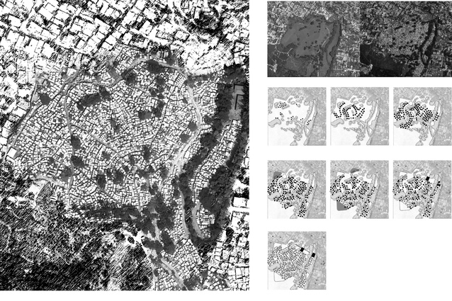 Mapping the growth of the Pétionville Club golf course refugee camp in Port-au-Prince, Haiti following the earthquake that occurred on 12 January 2010.