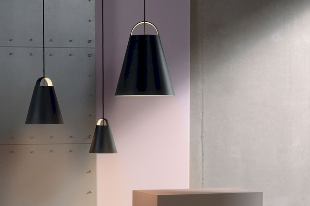 The Above pendant designed by Mads Odgard for Louis Poulsen.