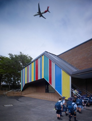 Stanmore Public School Library by Neeson Murcutt Architects
