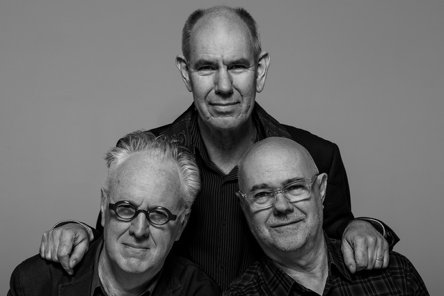 ARM Architecture founding directors (from left): Howard Raggatt, Stephen Ashton and Ian McDougall