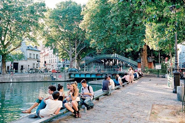 Paris out about urbis magazine - Canal saint martin restaurant ...