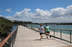 Westhaven Promenade opens to public