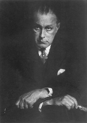 Portrait of Adolf Loos, Vienna, c. 1930.